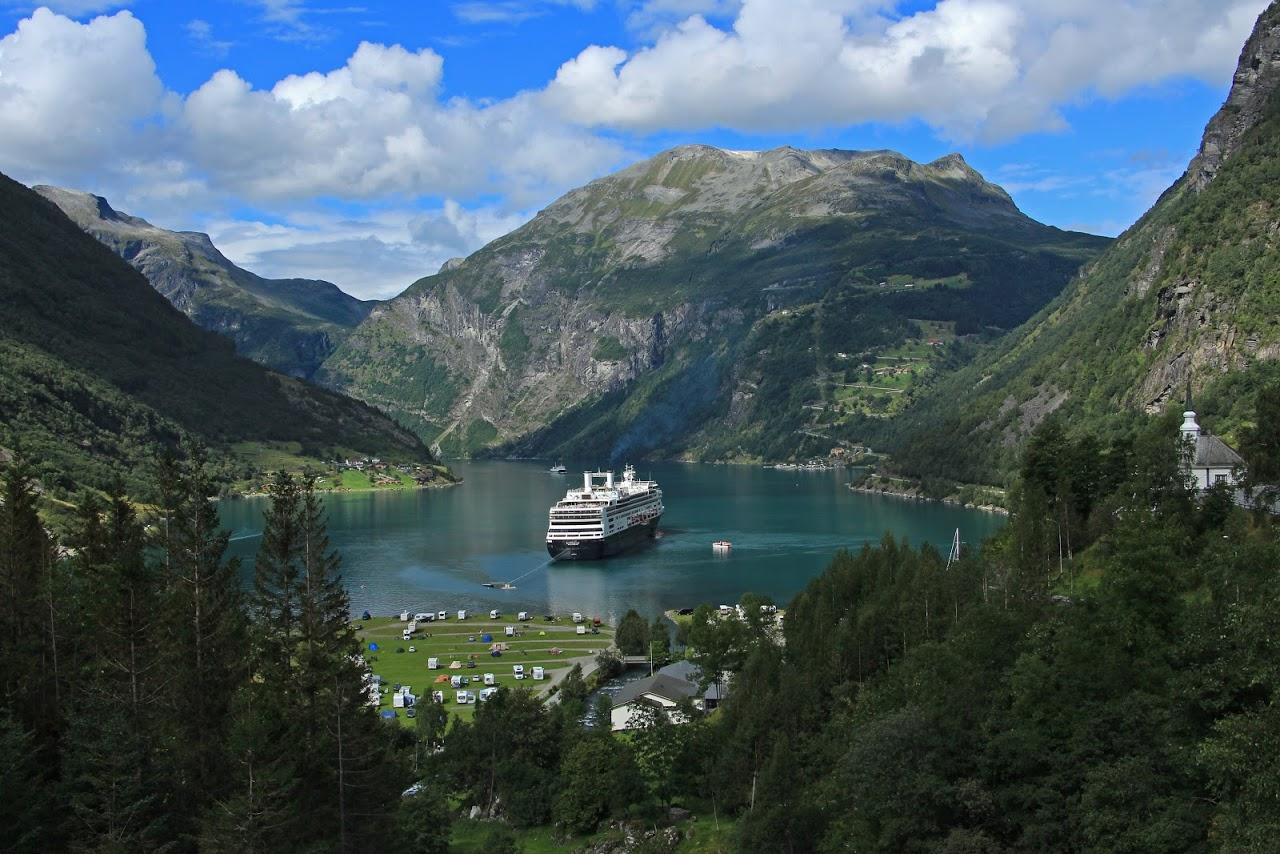 Geirangerfjord zapsaný v UNESCO