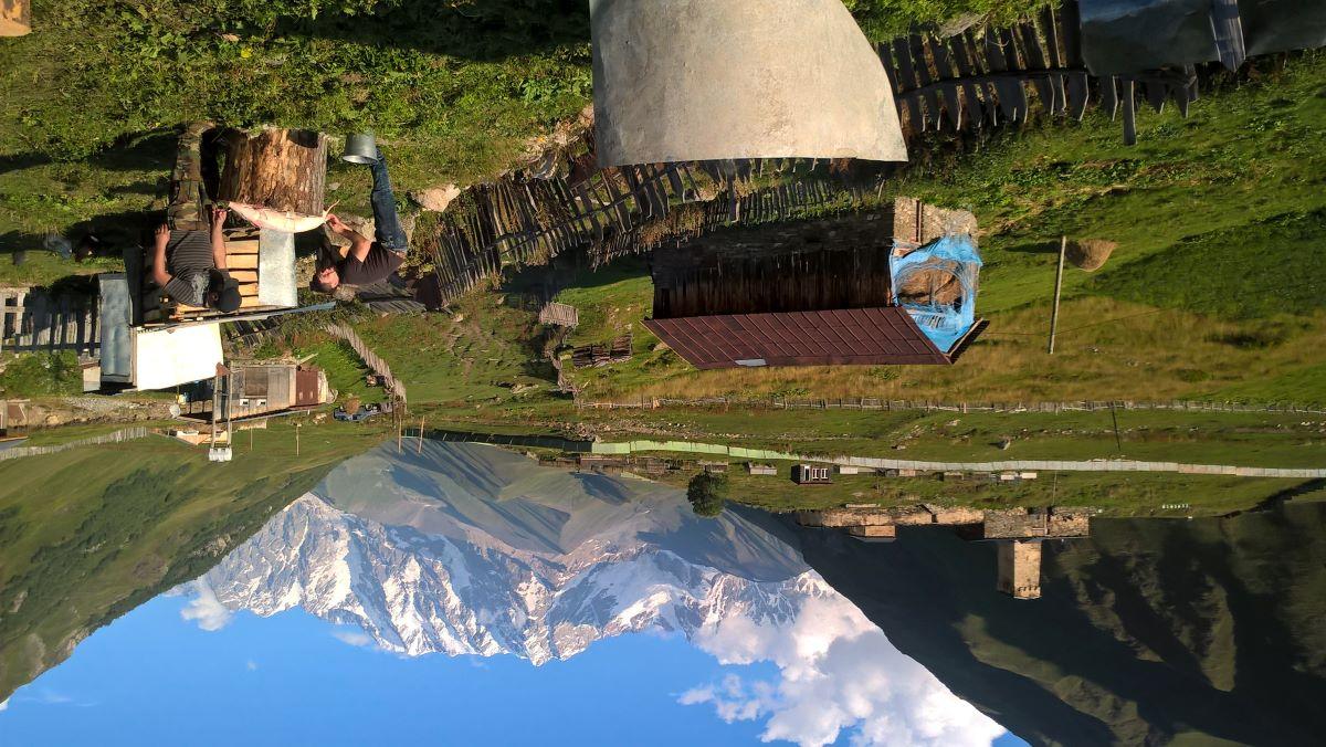 Gruzie - turistika ve Svanetii