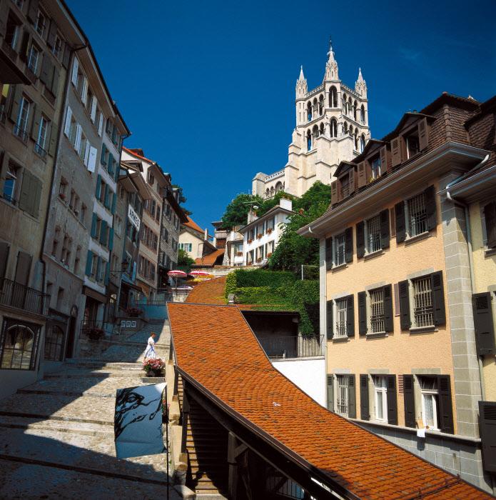 Katedrála Notre Dame v Lausanne