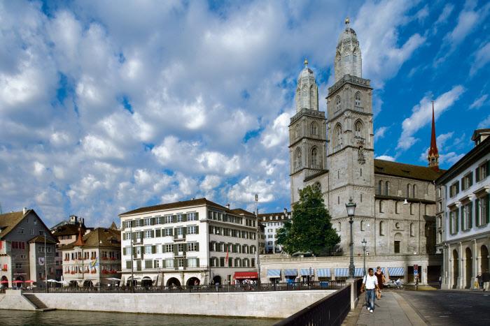 Kostel Grossmuester v Zurichu