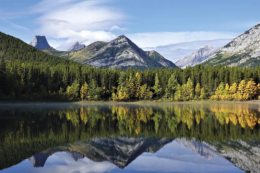 Krásy kanadského podzimu