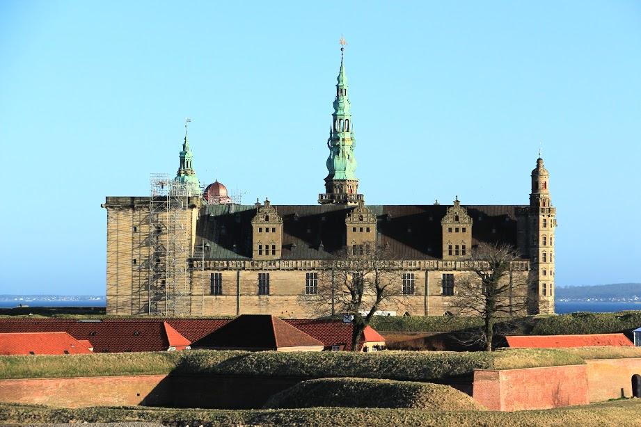 Kronborg - Hamletův hrad u Helsingoru