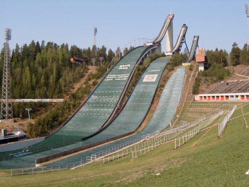 Lahti- tradiční středisko lyžařských závodů