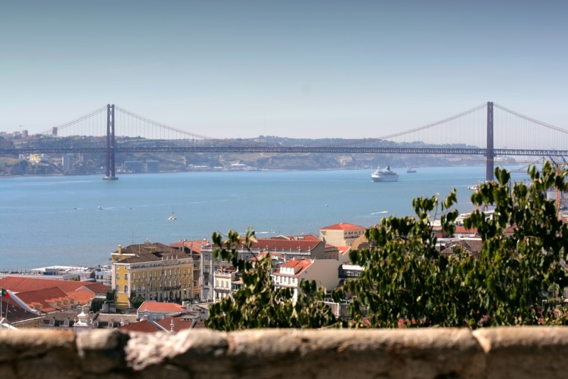 Lisabon, město a řeka