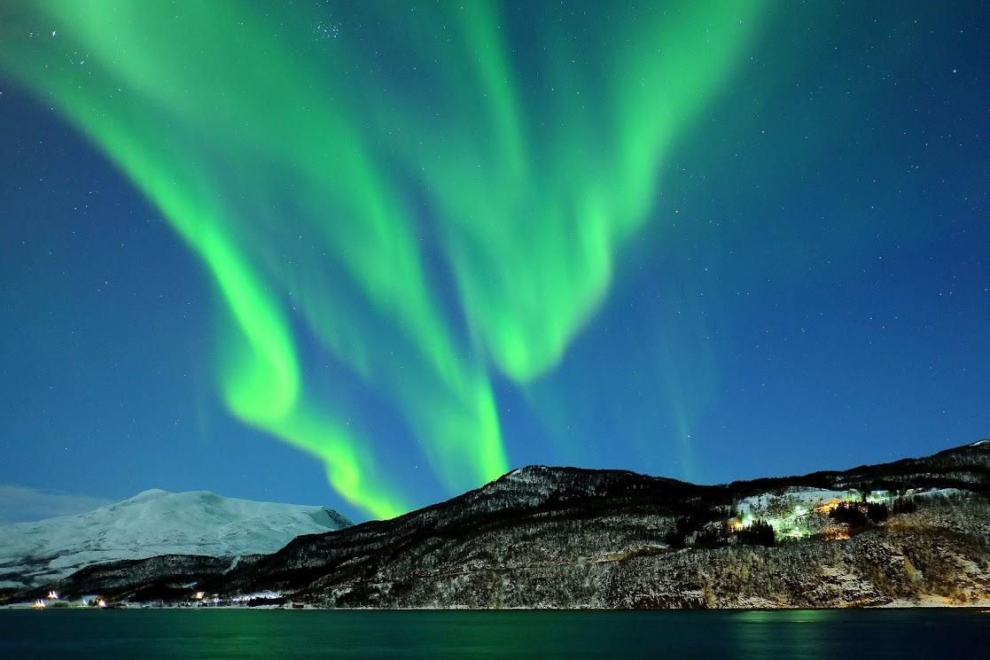 Na výletě s fotografem za polární září