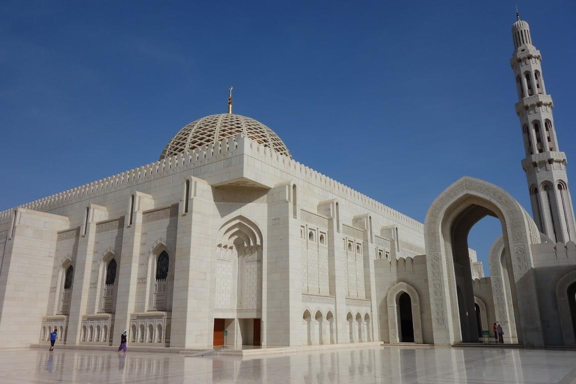 Mešita sultana Quaboose v Muscatu