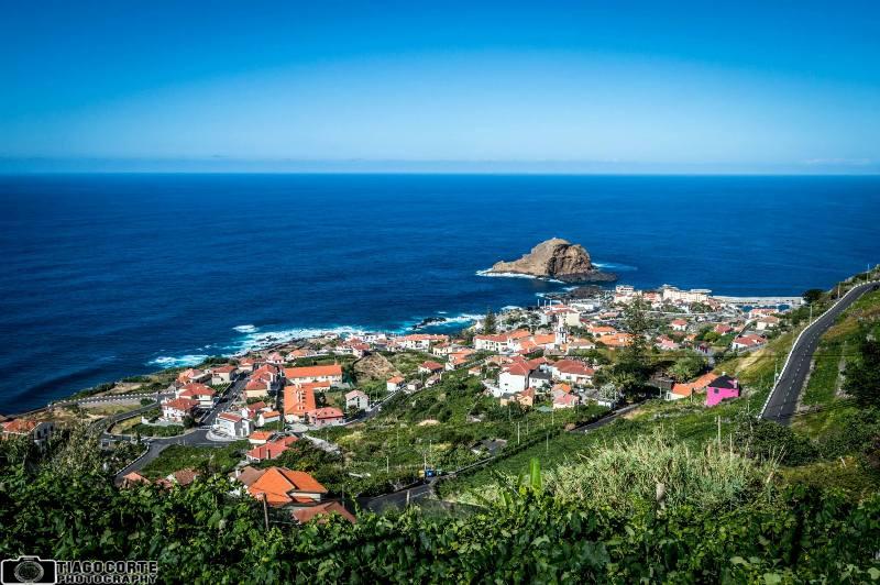 Městečko Porto Moniz