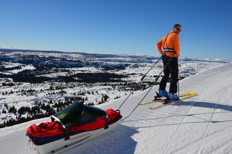 Norsko - ideální dovolená na lyžích