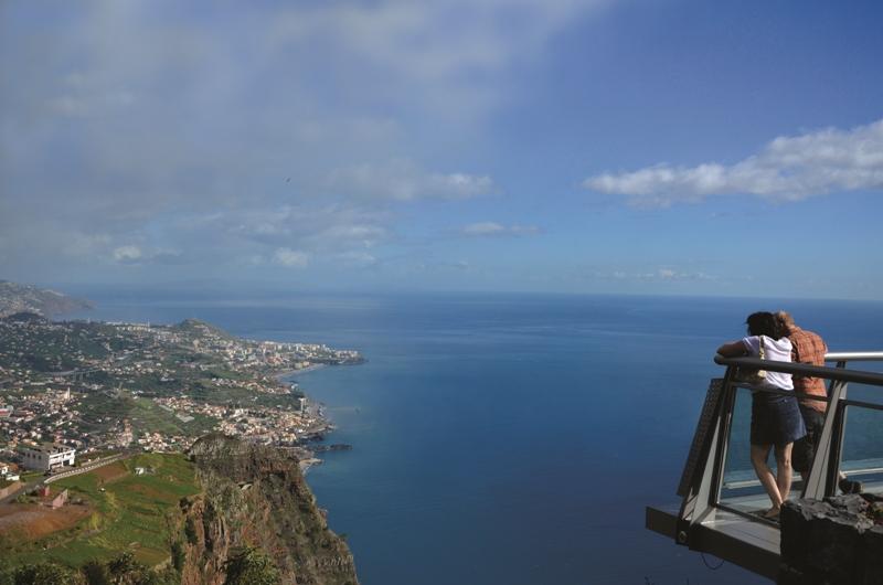 Největší útes v Evropě Cabo Girao