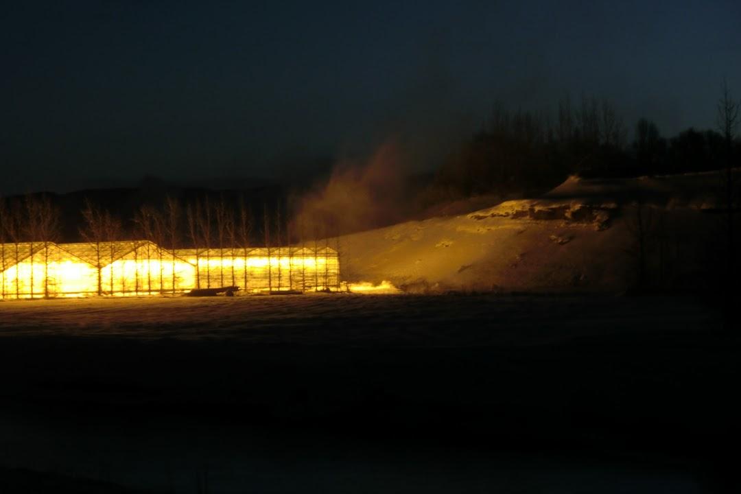 ohnivý Island