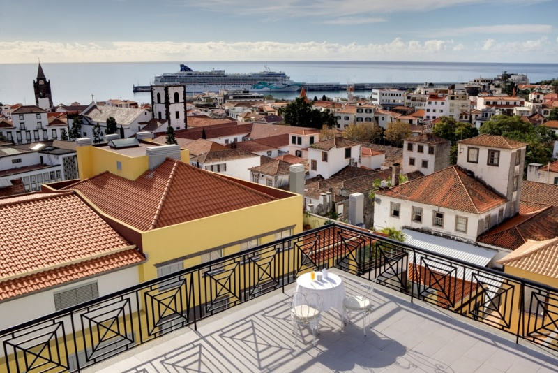 Hotel Orquidea, Funchal, terasa