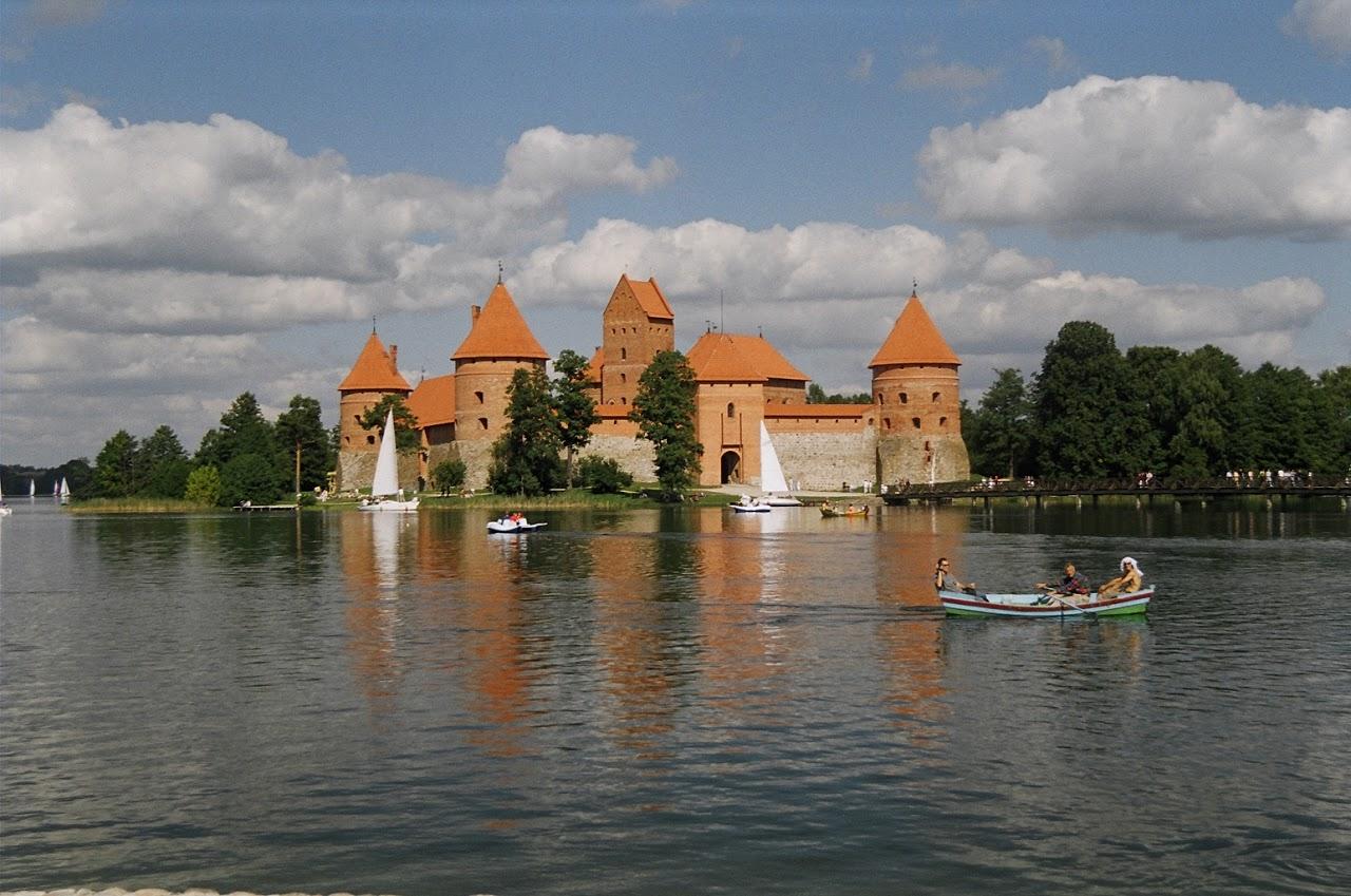 Ostrovní hrad v Trakai