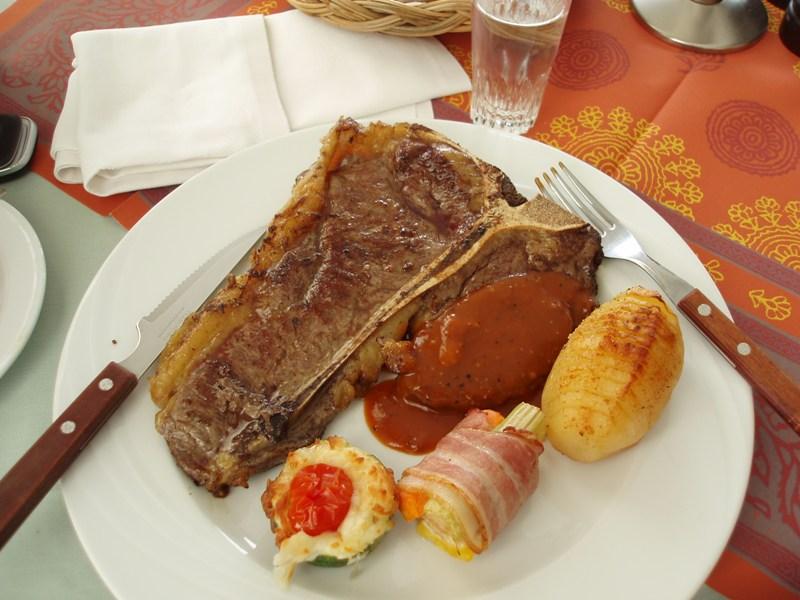 Pižmoní steak