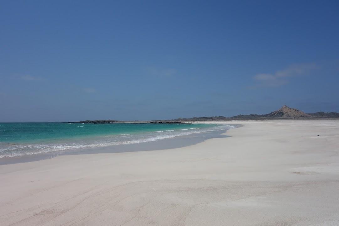 Pláž na ostrově Masirah