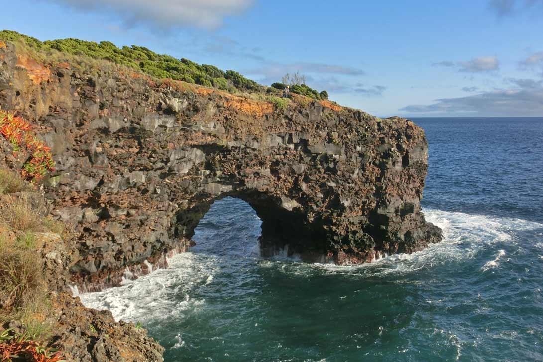 Pobřeží ostrova Sao Miquel