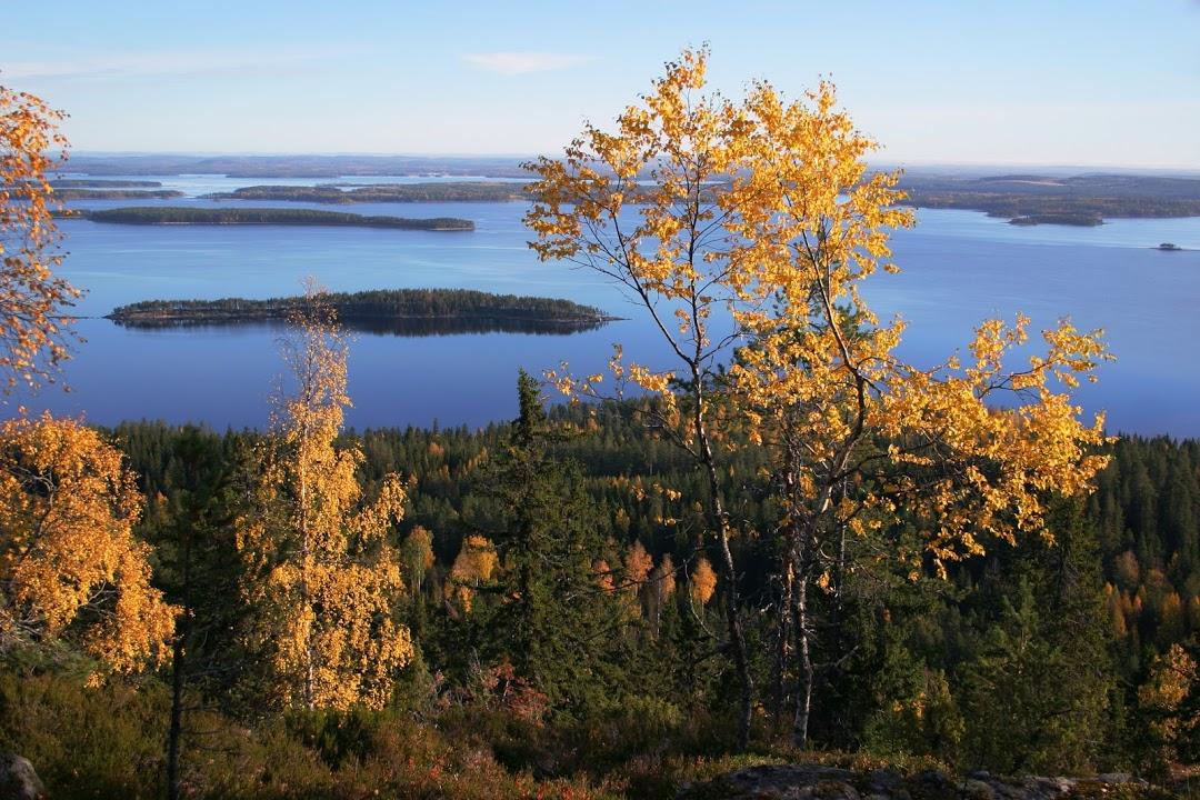 Podzimní barvy finské krajiny