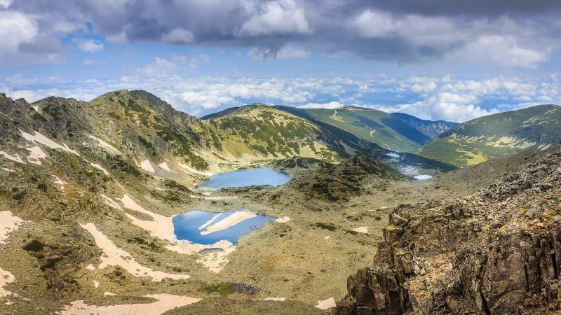 Pohoří Rila, Rilská jezera