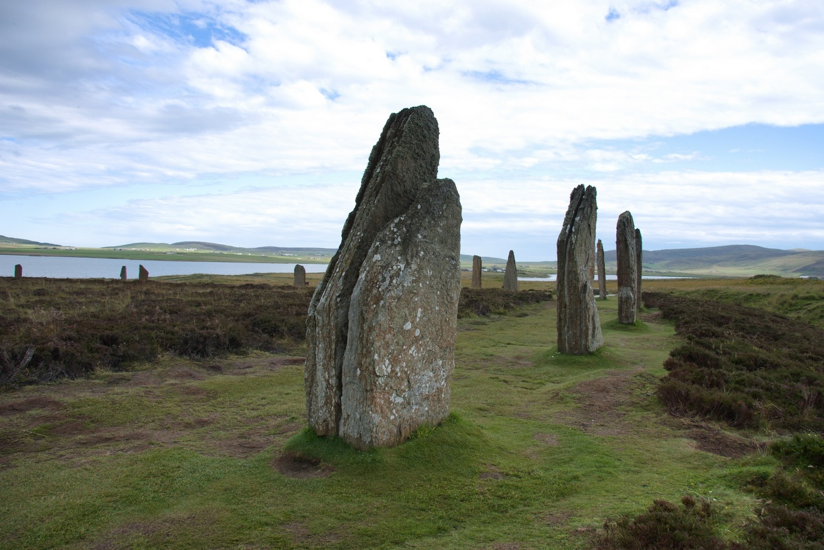 Ring of Brodgar na Orknejských ostrovech
