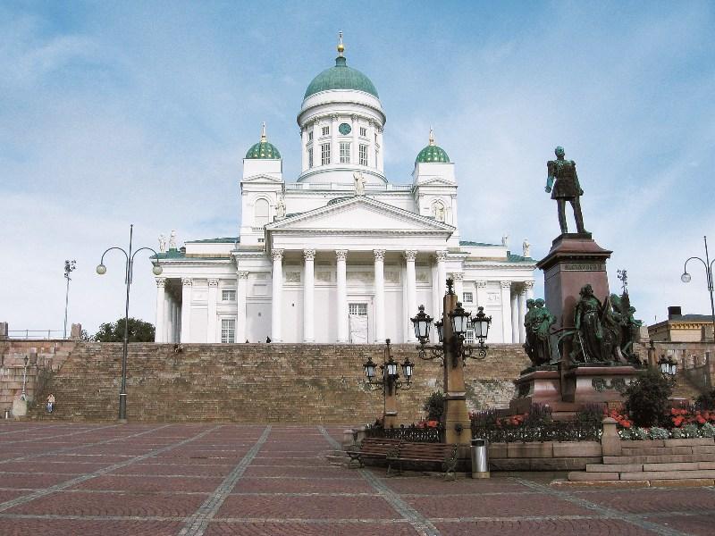 Senátní náměstí v Helsinkách