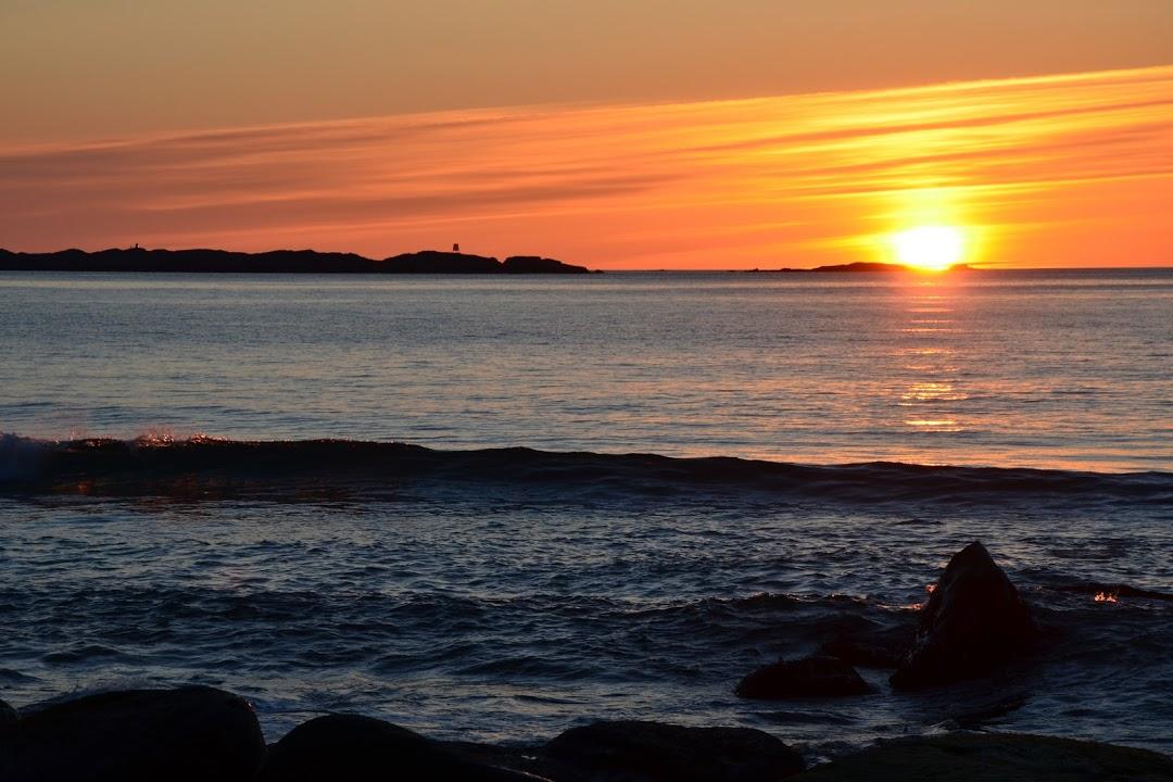Západ slunce na Lofotech