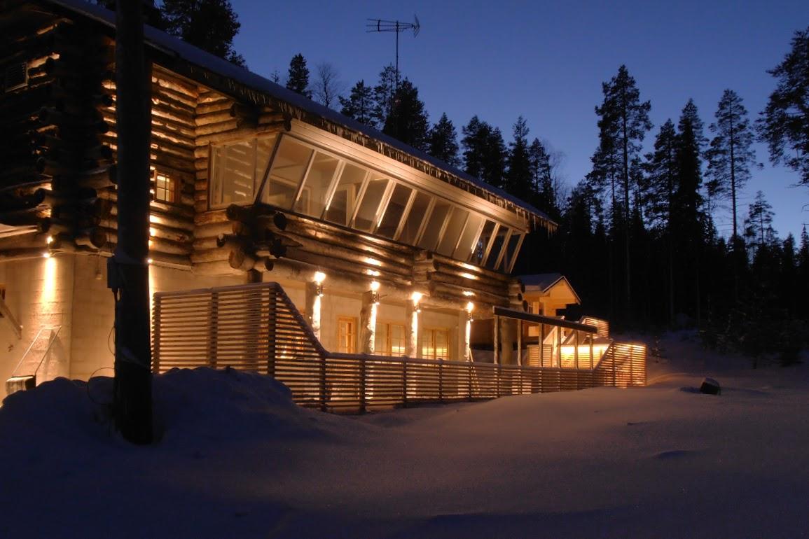 Silvestr v Laponsku
