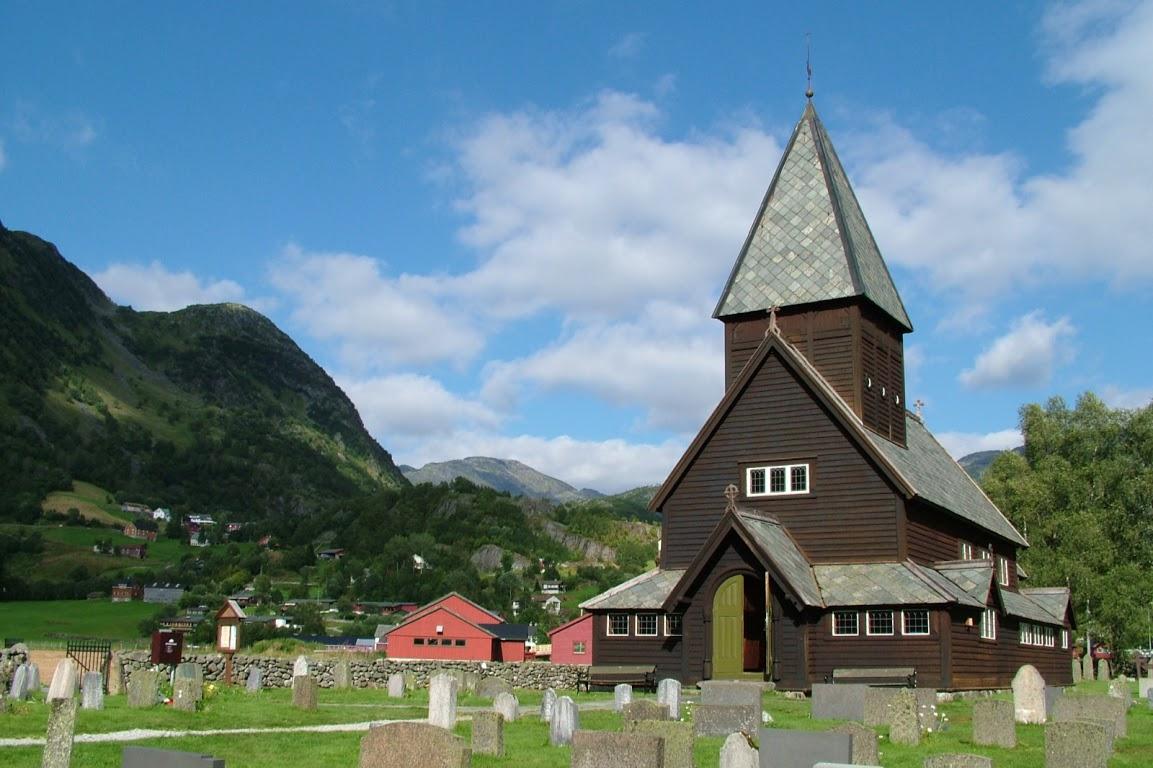 Sloupový kostel Roldal