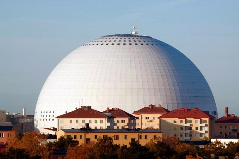 Stockholm - hala Globen