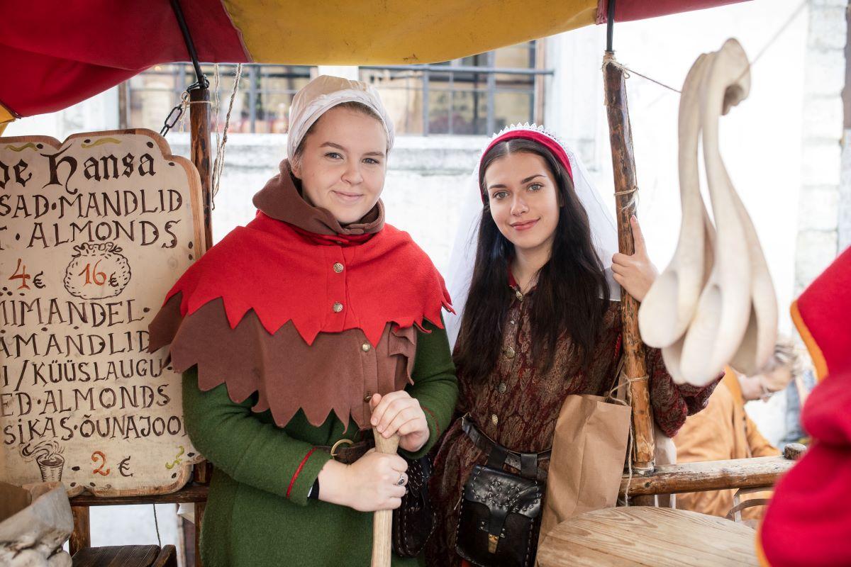 Tallinn Olde Hansa v zimě