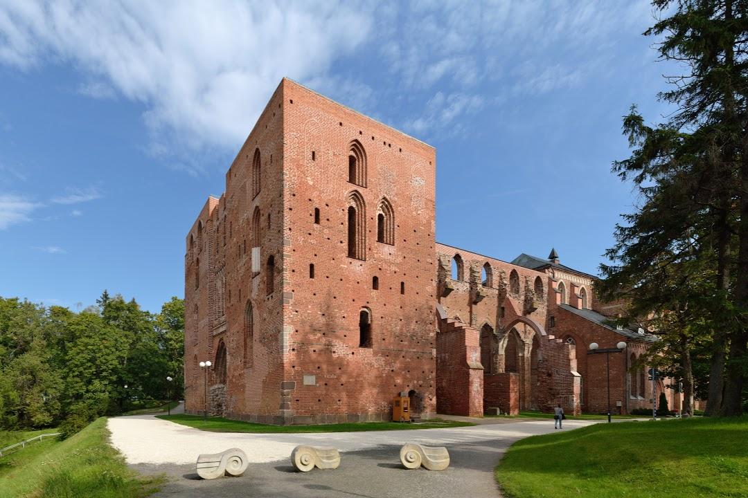 Tartu- zřícenina středověkého domu
