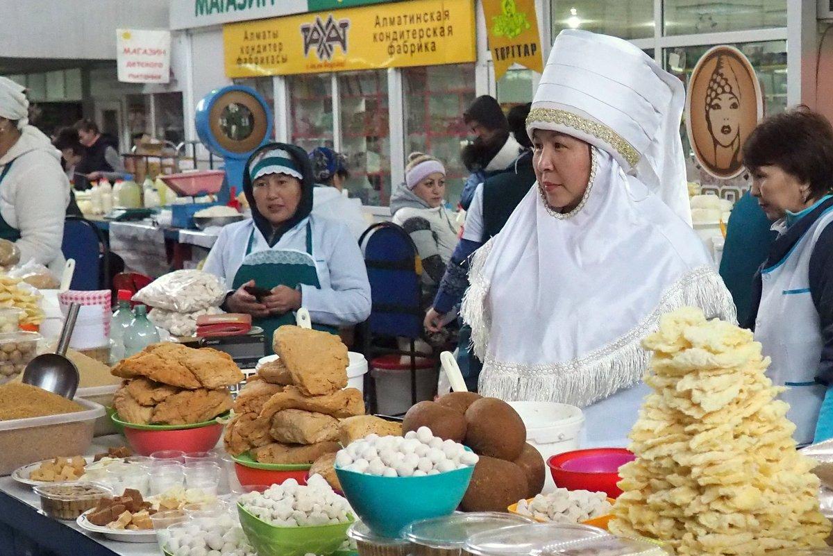 Trh v Almaty