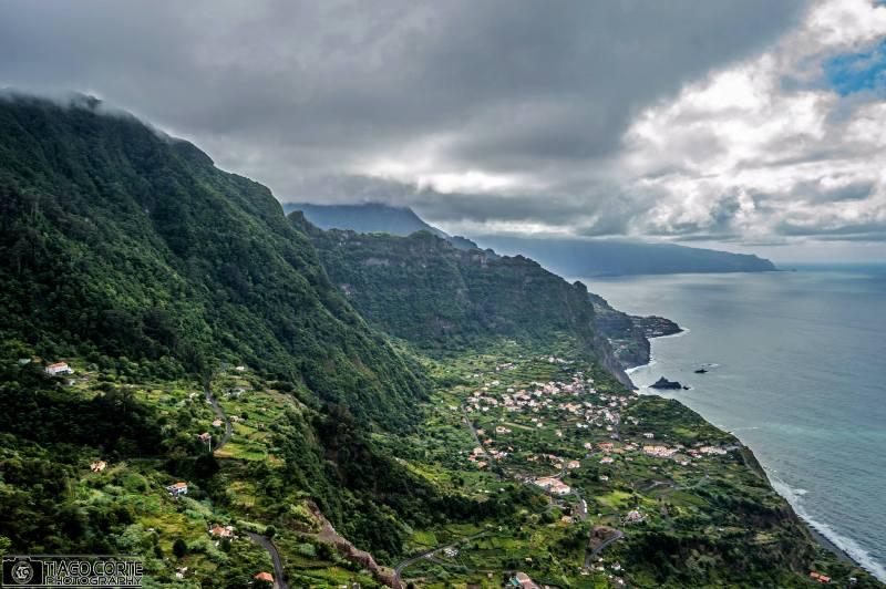 Úchvatná krajina Madeiry