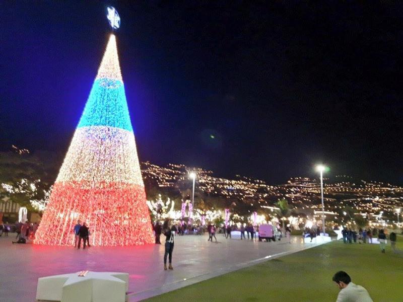 Vánoční výzdoba ve Funchalu