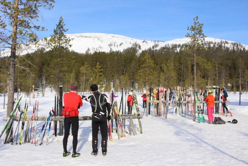 Yllas - ráj běžeckého lyžování