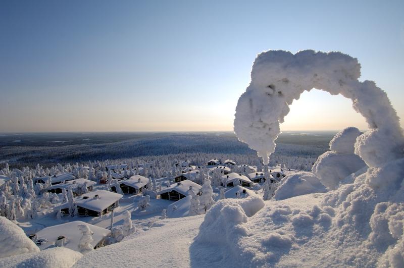 Zimní dovolená ve Finsku - Iso Syote