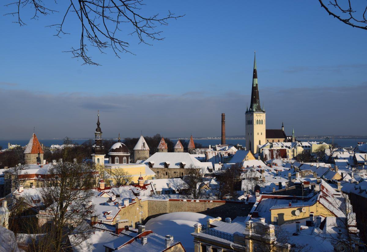 Zimní Tallinn