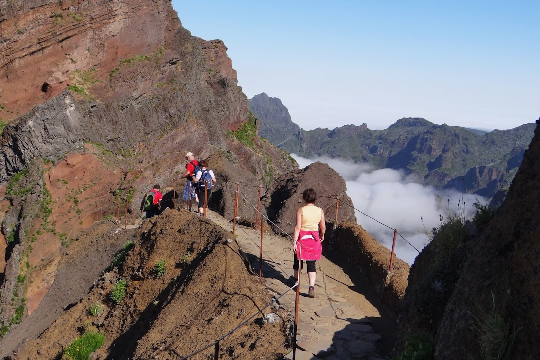 Výšlap v horských partiích Madeiry