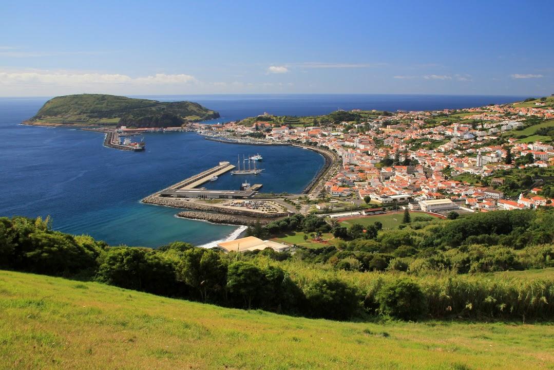 Přístavní město Horta
