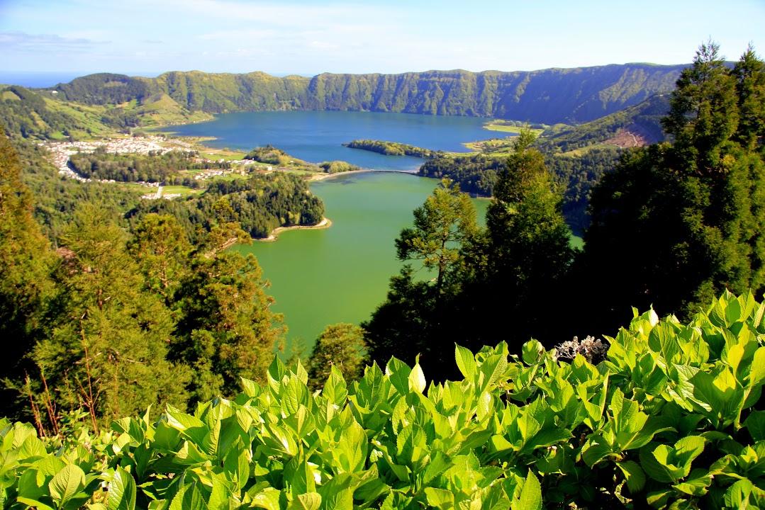 Přírodní rezervace Lagoa do Fogo