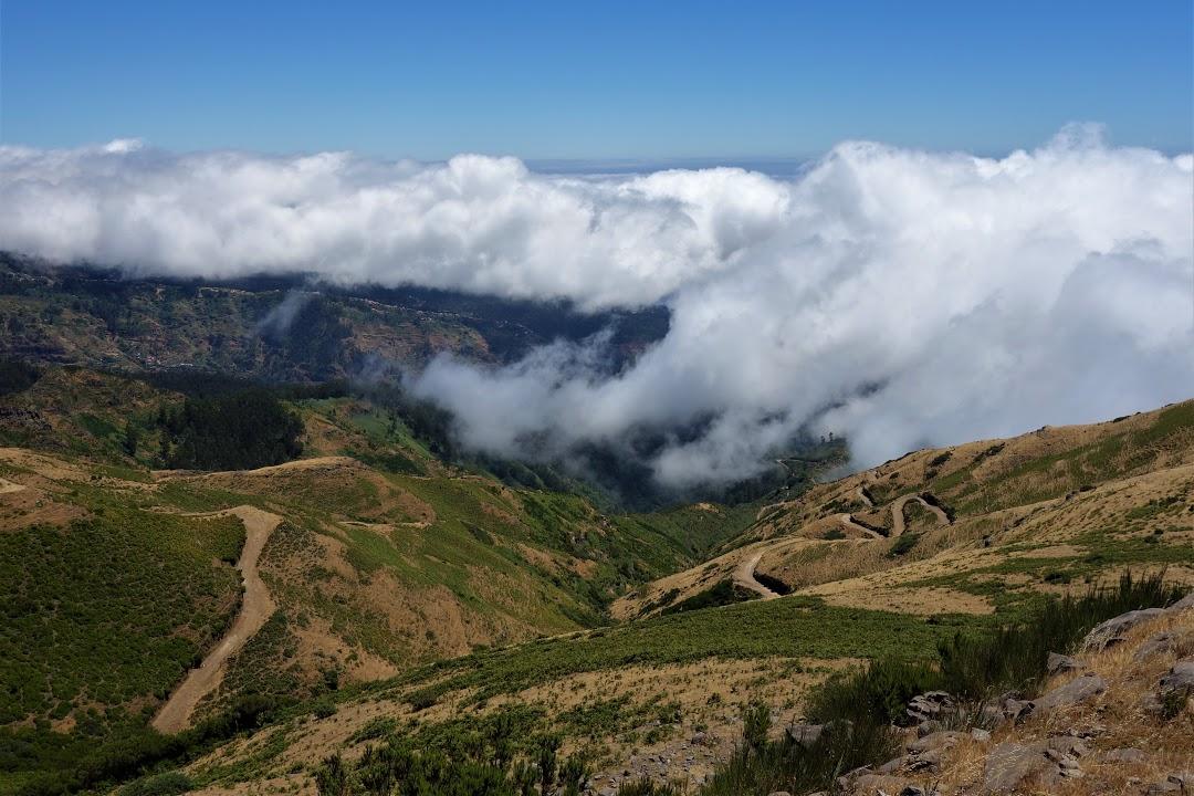 Madeira / Horská túra nad mraky