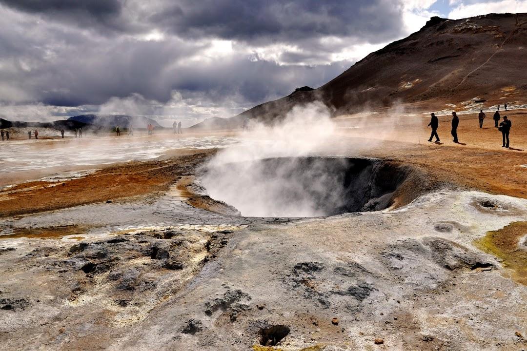 Geotermální oblast Námafjall