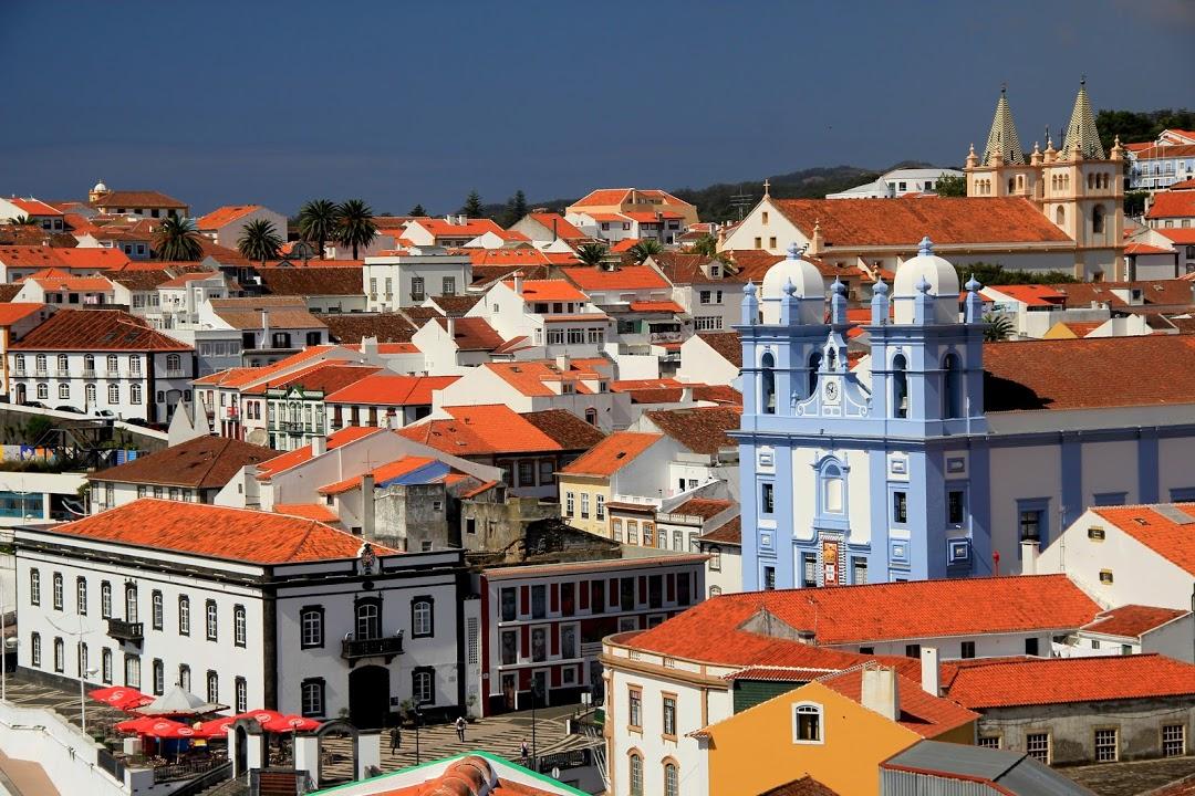 Kostel v Angra do Heroísmo na ostrově Terceira