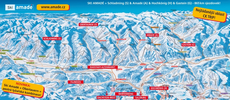 ZIma RAKOUSKO - CK TRIP / Ski Amadé