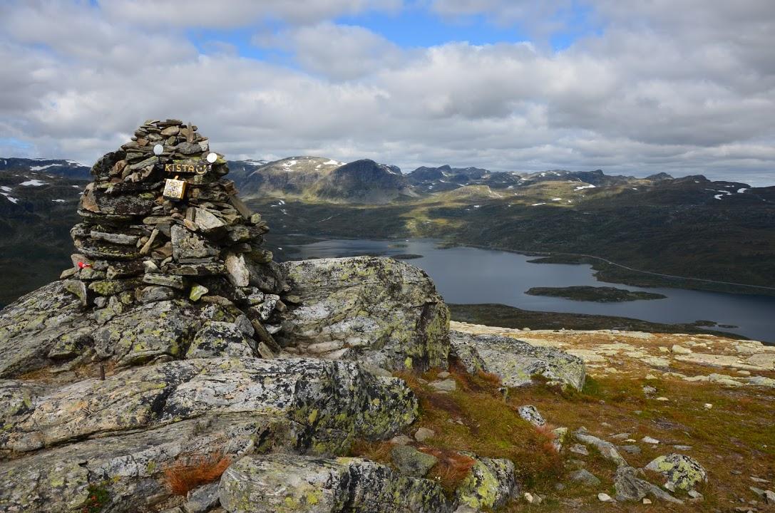 Túra v NP Hardangervidda