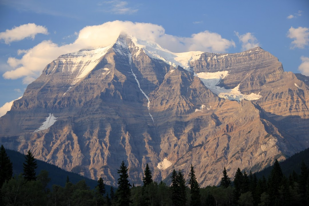 Nejvyšší hora Skalnatých hor Mt. Robinson