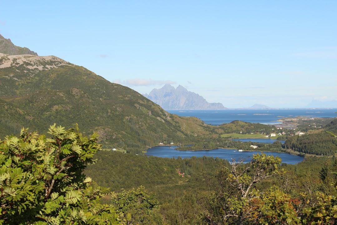 Výhledy na ostrovy Lofot