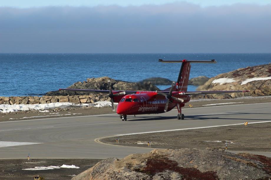 Letadlo společnosti Air Greenland