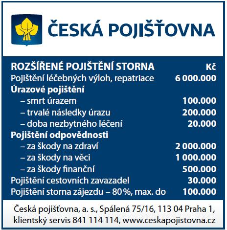 Redakce - Infoscope - zkatalogu / Všeobecné pojistné podmínky - Česká pojišťovna
