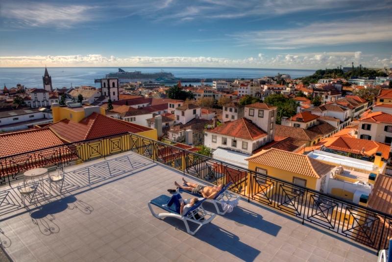 10 Terasa hotelu Orquidea, Funchal