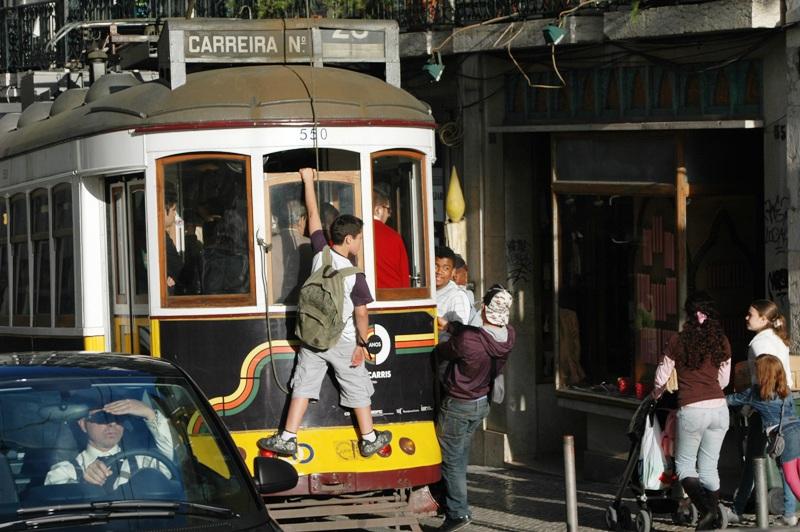 Lisabon, obrázek vyhledávaný turisty