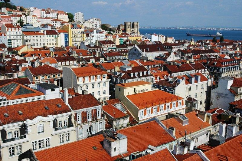 Lisabon, historické centrum města